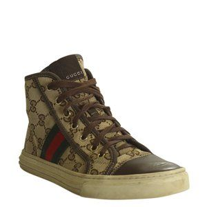 Gucci Brooklyn Web GG Sneakersx Size 37 192916